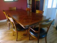 Quality Harveys Extending Dining Table