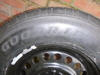 Vauxhall antara spare wheel c/w jack and fitting kit