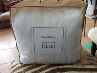 Double Wool Duvet