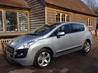 PEUGEOT 3008 Active 5 door hatch 1.6 PETROL LOW Mileage