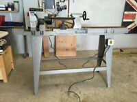 Draper variable speed woodworking lathe