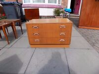G PLAN FRESCO 1970's Teak Chest/Sideboard - Nice Retro Item