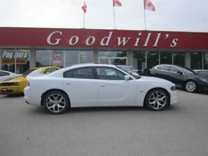 2015 Dodge Charger R/T! CLEAN CARPROOF! NAVIGATION! SUNROOF!