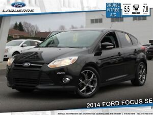 2014 Ford Focus SE**BLUETOOTH*A/C* CRUISE*SIÈGES CHAUFFANTS**