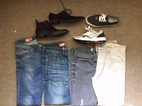 Selection of Mens clothes & shoes