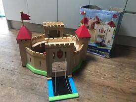ELC wooden castle