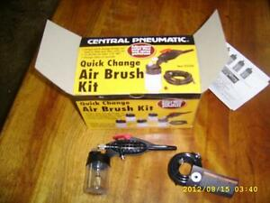 BRAND NEW AIR BRUSH KIT W/FITTINGS