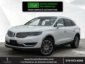 2016 Lincoln MKX **RESERVE, V6, AWD, PANO ROOF**