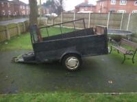 7 x 4 ft trailer no greedy boards just trailer needs tidying up floor etc