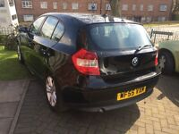2005 BMW 118D SE BLACK ONE SERIES WITH 94000 MILES A3 A CLASS