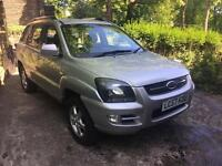 2007 57 KIA SPORTAGE 4x4 SILVER HPI CLEAR DIESEL IMMACULATE CONDITION