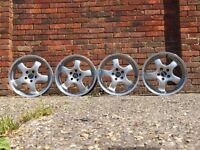 ATS deep dish alloy wheels, 5x112, Vw Transporter T4, audi, mercedes