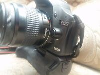 canon 500d battery grip and batteries