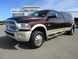 2015 Ram 3500 LONGHORN DUALLY 4x4 AIR SUSPENSION / SUNROOF / CAN