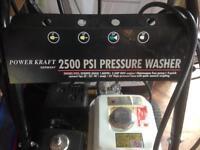 Pressure washer 2500 PSI
