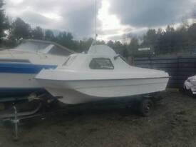 15 ft bay hunter fishing boat 30 hp suzuki