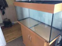 Jewel rio 180 fish tank and stand