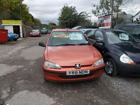 peugeot 106 3 door independance feb mot good runner vring 07913363758