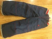 Min Boden ski trousers - elastic waste 7-8 years