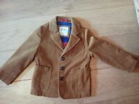 Mini boden brown corduroy boys jacket 4-5 yrs