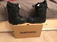 Burton Moto snowboard boots 7.5 uk