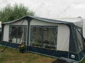 Coachman Pastiche 520/4 caravan, new full awning
