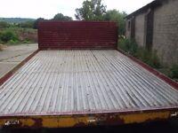 lorry body off a transit