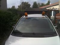 12 volt Revolving beacon, small new p.i.r. floodlight.