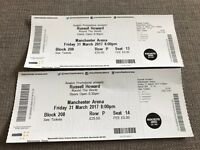 Russell Howard Tickets - Manchester Arena 31st March