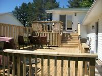 DECKS, ARBORS, SHEDS...AND MUCH MORE......
