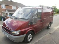 2004 04 FORD TRANSIT 2.0 280 SWB TD PANEL VAN RED LOW 92K FULL MOT EXCELLENT DRIVE PX SWAPS DELIVERY