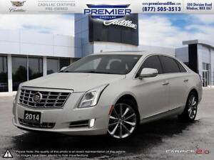2014 Cadillac XTS Luxury Collection AWD One owner local trade an