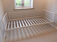 Day-Bed Frame White