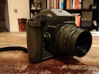 Zenza : Bronica ETRS Safari - Good Condition - With All Original Accessories + Wide Angle Lens