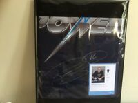 Phil the Power Taylor signed shirt