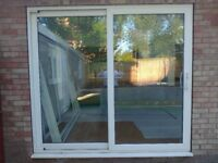 Patio door, double glazed.