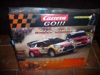 "Slot Car Racing - Carrera Go ""Rally Kings"" used once"