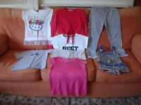 BUNDLE OF GIRLS CLOTHES AGE 10 - 11 YEARS.