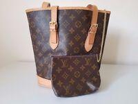 Womans Classic Design Louis Vuitton Bag + Purse