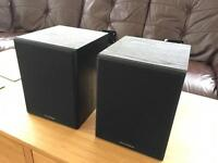 Wharfedale Programme 30D speakers with wall brackets