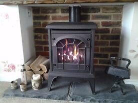 Gazco Clarendon, coal effect cast iron gas stove