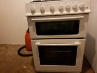 Double Oven Gas Cooker (White)