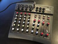Folio Notepad 4 channel mixer