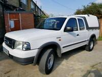 Ford Ranger Super Cab 2005 diesel low mileage 104k 1 year MOT Mint condition