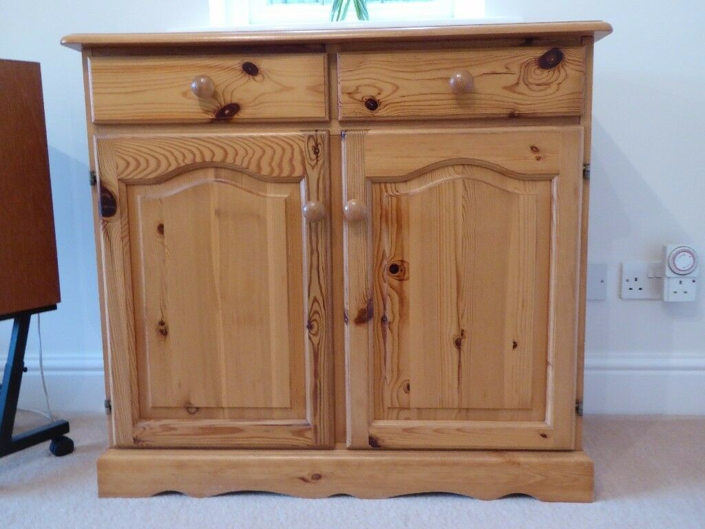 Pine Sideboard / Welsh Dresser Base - Very Good Condition