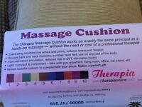 THERAPIE MASSAGE CUSHION-IDEAL XMAS GIFT
