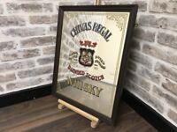 Chivas Regal Whiskey Framed Pub Bar Mirror