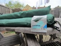 2 single camp beds