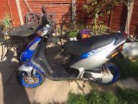 50cc Moped / Scooter. Piaggio-Vespa NRG MC3.