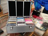 CD COLLECTION IN CARRY CASE BOXs EX DJ MIXED MUSIC